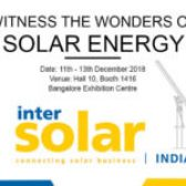 Panasonic India, participa en la exposición Intersolar India 2018